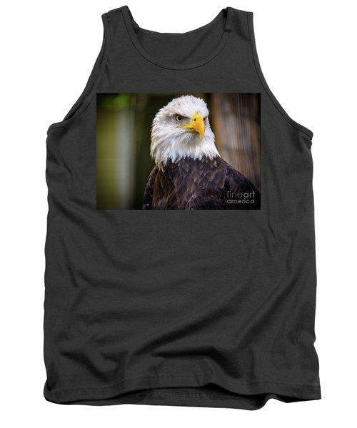Bald Eagle Tank Top by Lisa L Silva