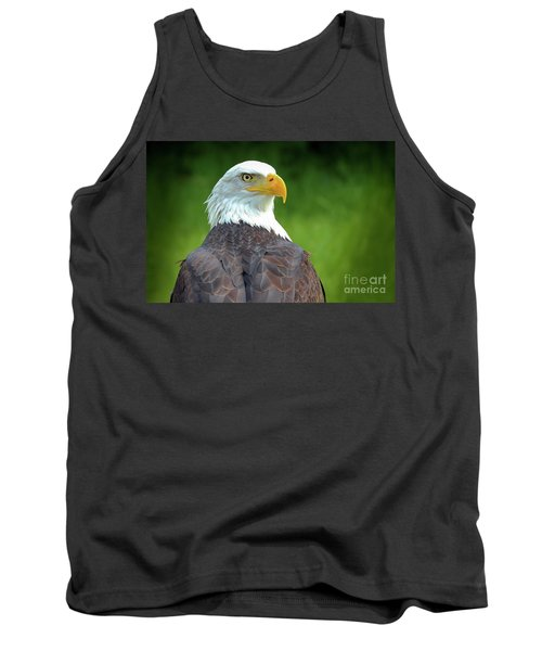 Bald Eagle Tank Top by Franziskus Pfleghart