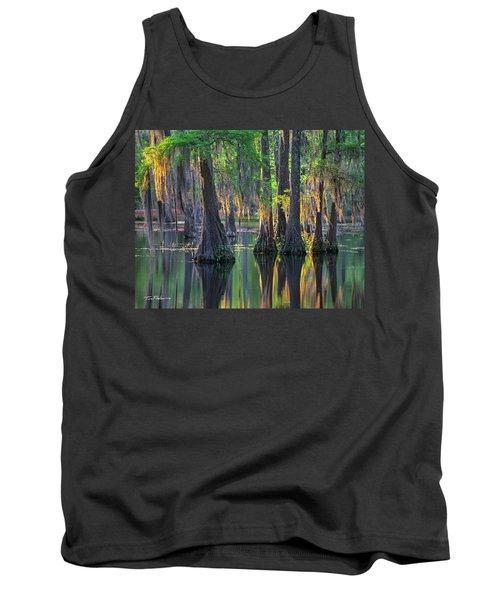 Baldcypress Trees, Louisiana Tank Top