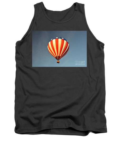 Tank Top featuring the photograph Ballons Over Tampa by John Black