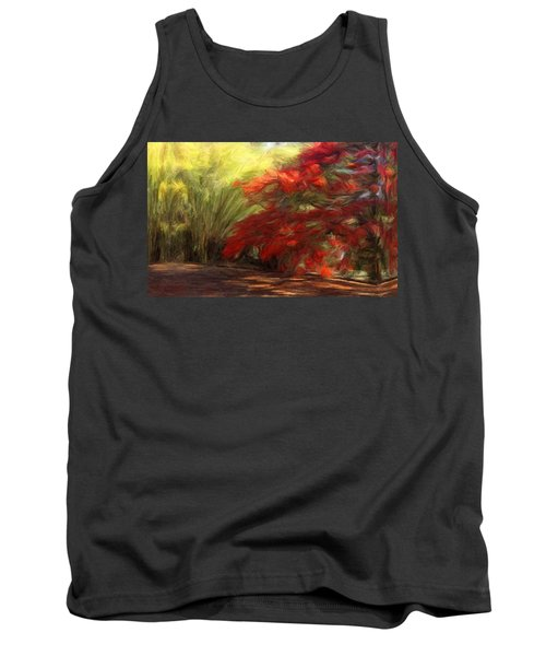 Bamboo And The Flamboyant Tank Top