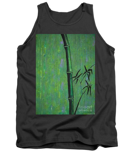 Tank Top featuring the painting Bamboo by Jacqueline Athmann