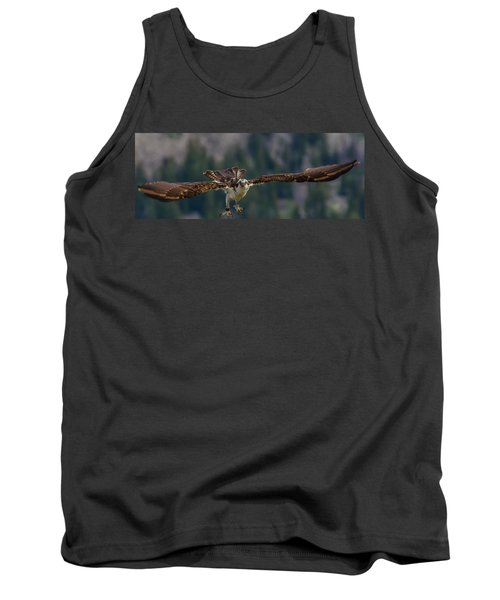 Tank Top featuring the photograph Banded But Bold by Yeates Photography