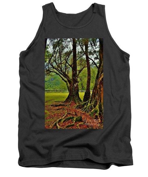 Banyan Tree And Date Palm Tank Top