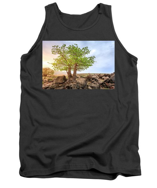 Tank Top featuring the photograph Baobab Tree by Alexey Stiop