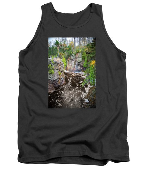 Baptism River In Tettegouche State Park Mn Tank Top