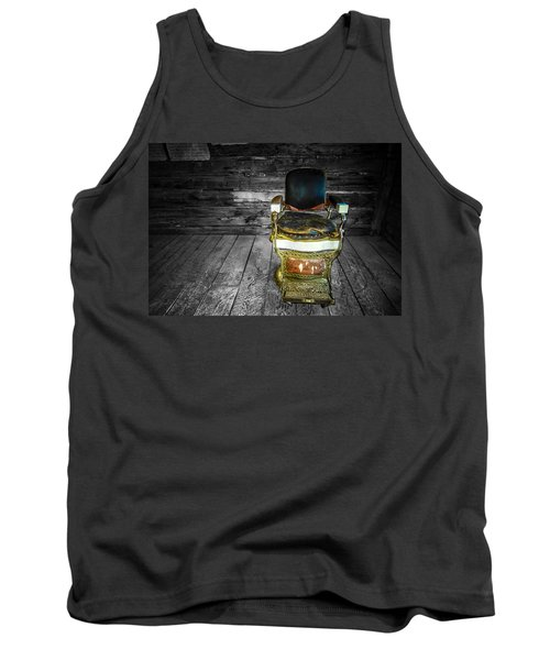 Ghost Town Barber Chair No. 1 Tank Top
