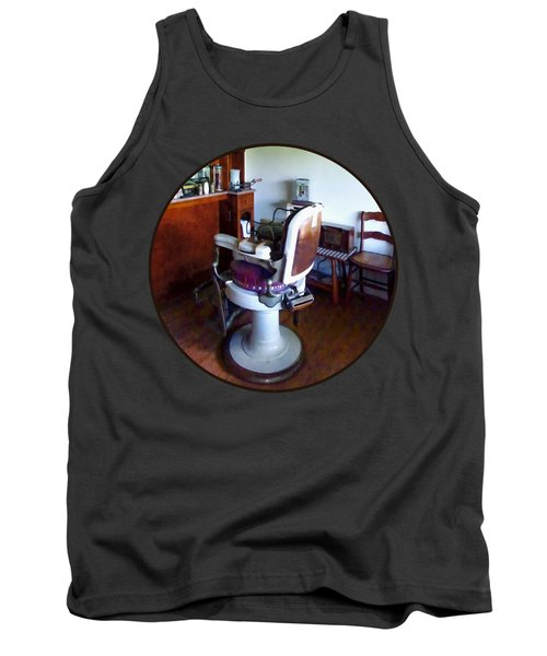 Barber - Old-fashioned Barber Chair Tank Top