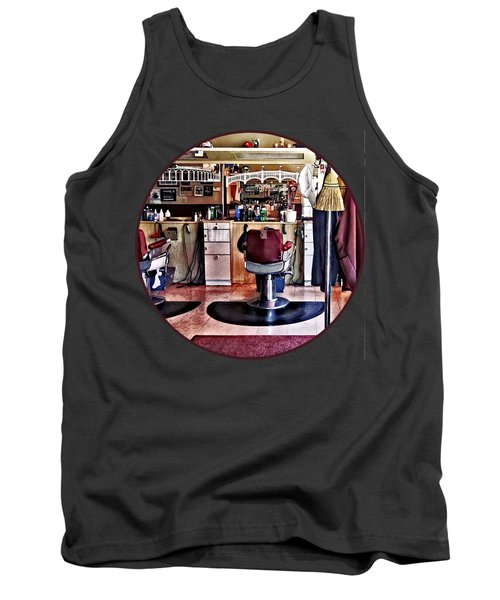 Barbershop With Coat Rack Tank Top