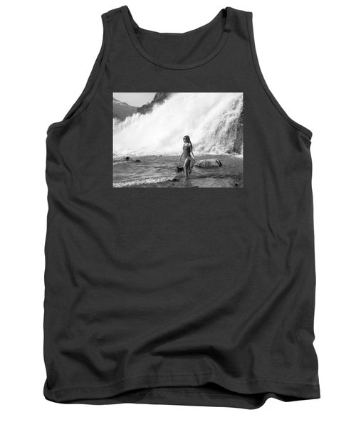 Barefoot In Wilderness Tank Top