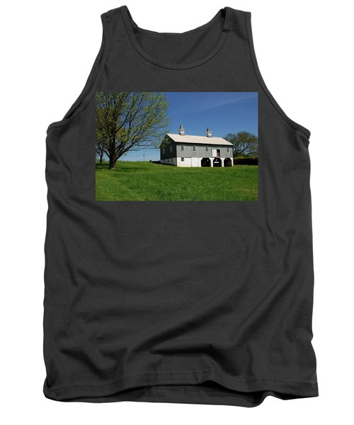 Barn In The Country - Bayonet Farm Tank Top