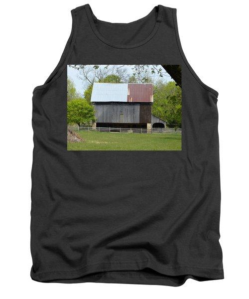 Barn Of Fair Hill Tank Top by Donald C Morgan