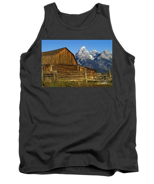 Barn On Mormon Row Tank Top