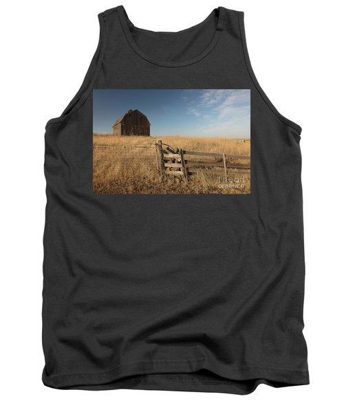 Barn On The Prairie Tank Top