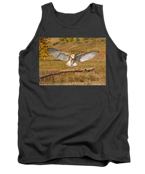 Barn Owl Landing Tank Top