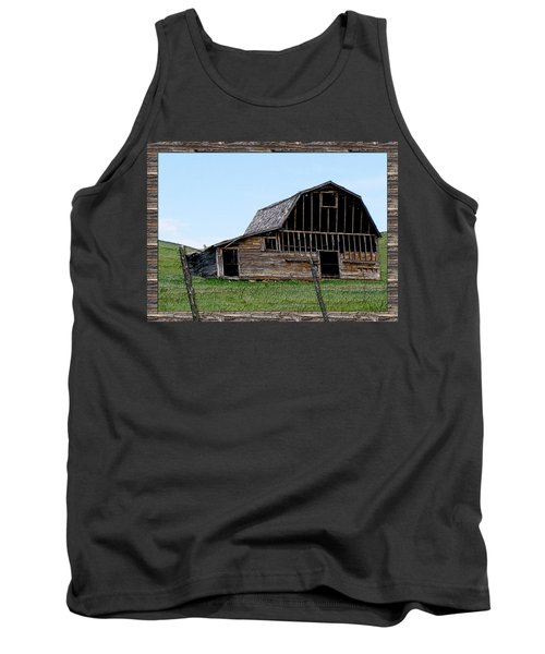 Tank Top featuring the photograph Barn by Susan Kinney