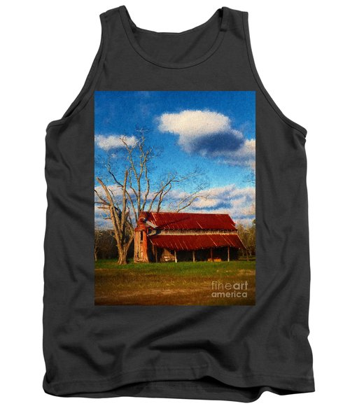 Red Roof Barn 2 Tank Top