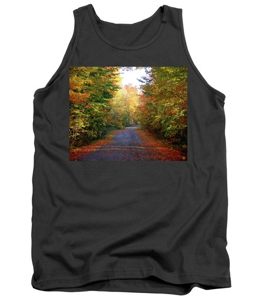 Barnes Road - Cropped Tank Top