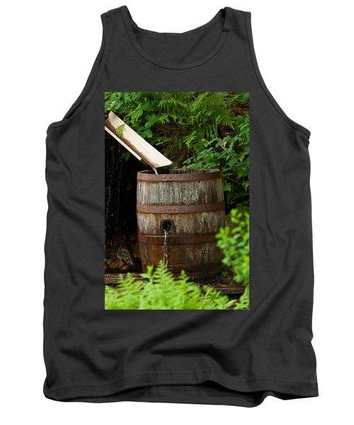 Barrel Of Water Tank Top