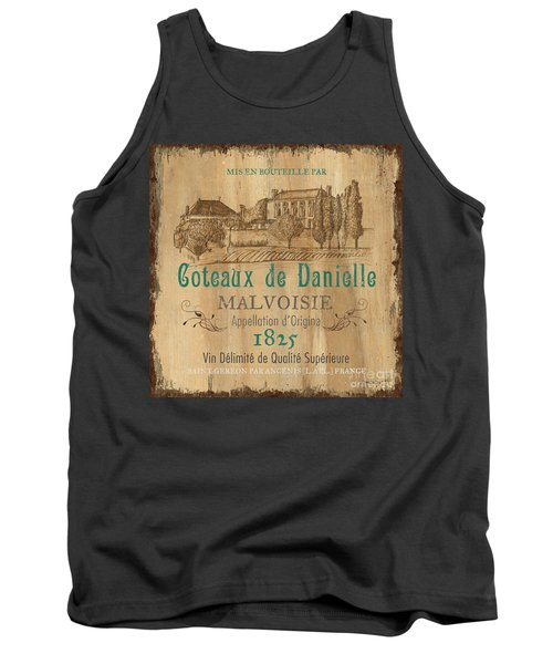 Barrel Wine Label 2 Tank Top
