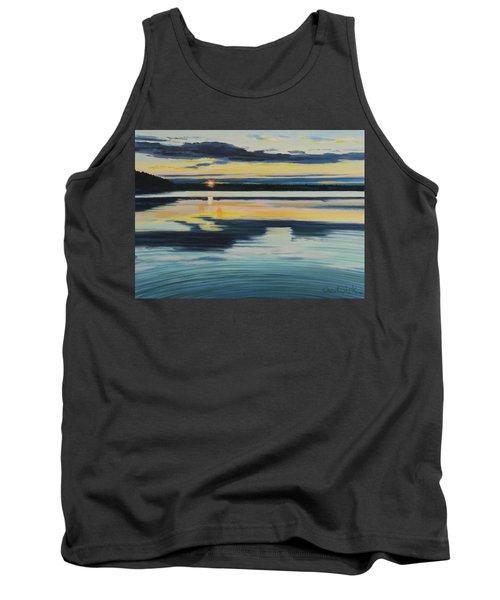 Bass Lake Sunset Tank Top