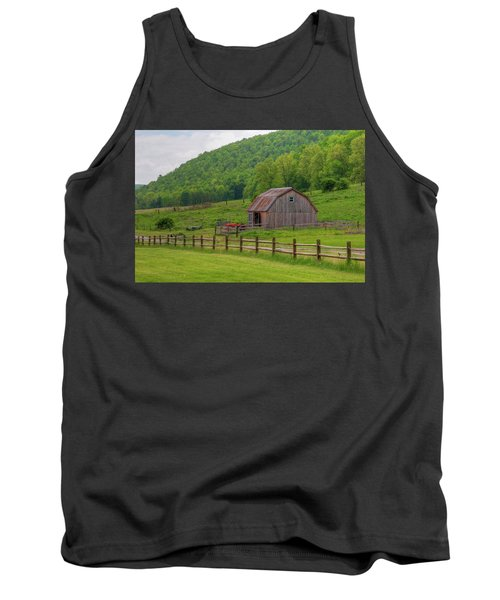 Tank Top featuring the photograph Bath Barn 0428a by Guy Whiteley