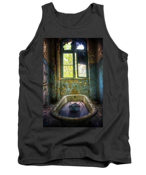 Tank Top featuring the digital art Bath Toy by Nathan Wright