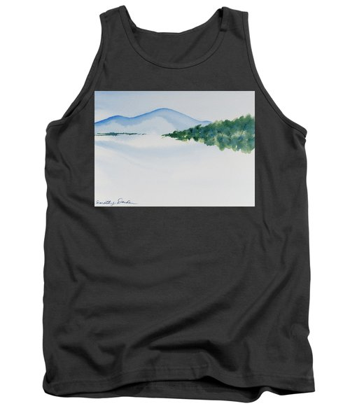 Tank Top featuring the painting Bathurst Harbour Reflections by Dorothy Darden