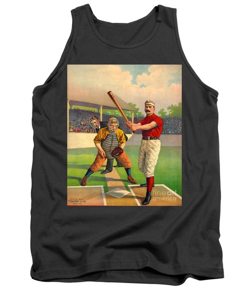 Batter Up 1895 Tank Top by Padre Art