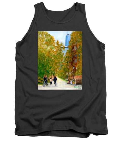 Battery Park City Ny Tank Top