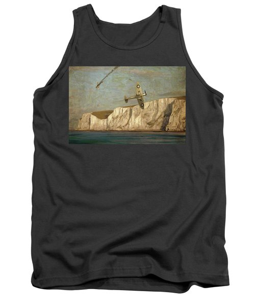 Battle Of Britain Over Dover Tank Top