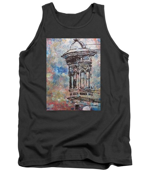 Tank Top featuring the mixed media Bay Window by John Fish