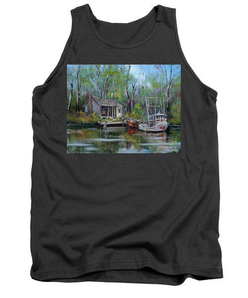 Bayou Shrimper Tank Top