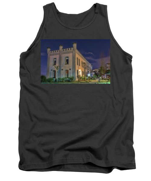 Tank Top featuring the mixed media B.c.penitentiary by Jim  Hatch