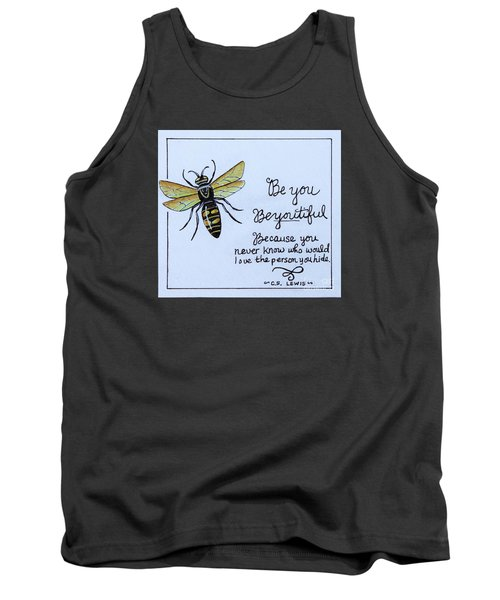 Tank Top featuring the painting Be You by Elizabeth Robinette Tyndall