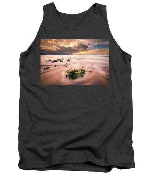 Beach At Paia Tank Top
