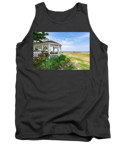 Beach At Rock Hall Tank Top