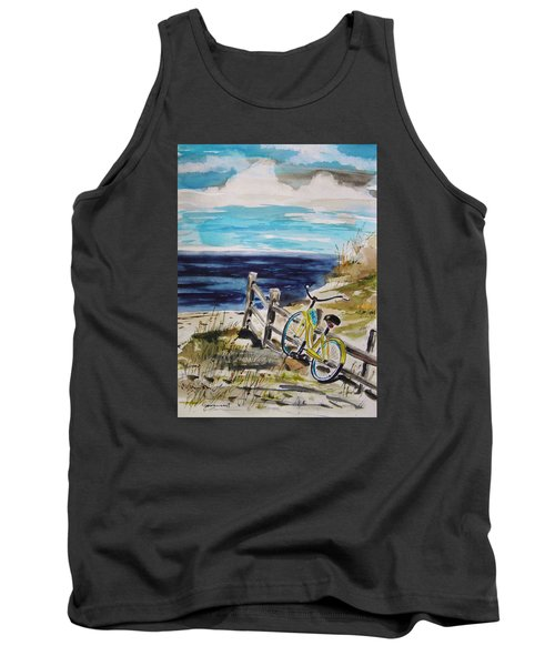 Beach Cruiser Tank Top by John Williams