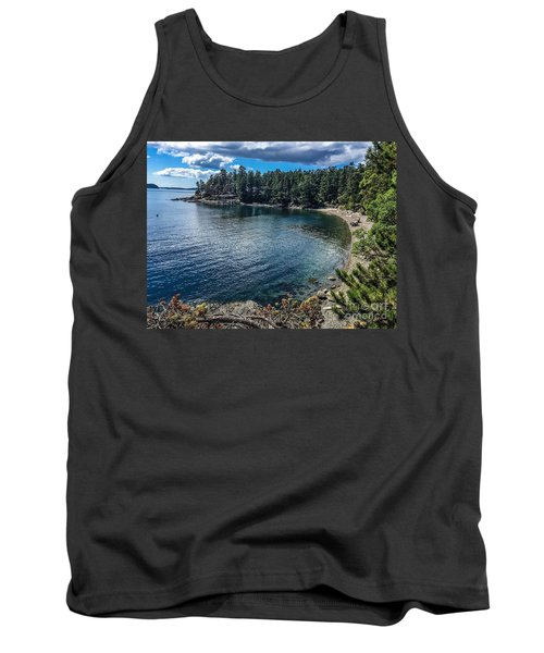 Tank Top featuring the photograph Beach Days by William Wyckoff