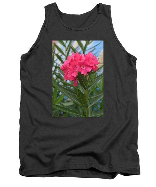 Beach Flower Tank Top by Deborah  Crew-Johnson