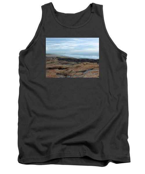 Tank Top featuring the photograph Beach by Gene Cyr