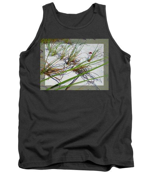 Beach Grass Tank Top by Ginny Schmidt
