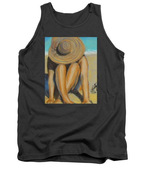 Beach Hat Tank Top