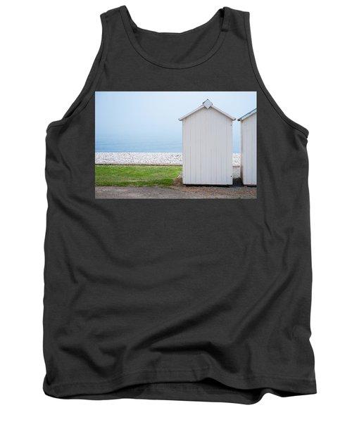 Beach Hut By The Sea Tank Top