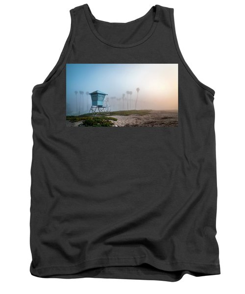Tank Top featuring the photograph Beach Office by Sean Foster