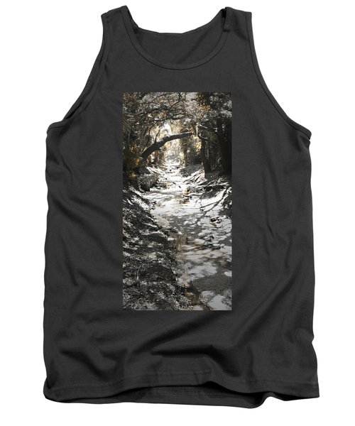 Beach Park Storm Drain Tank Top by Steve Sperry