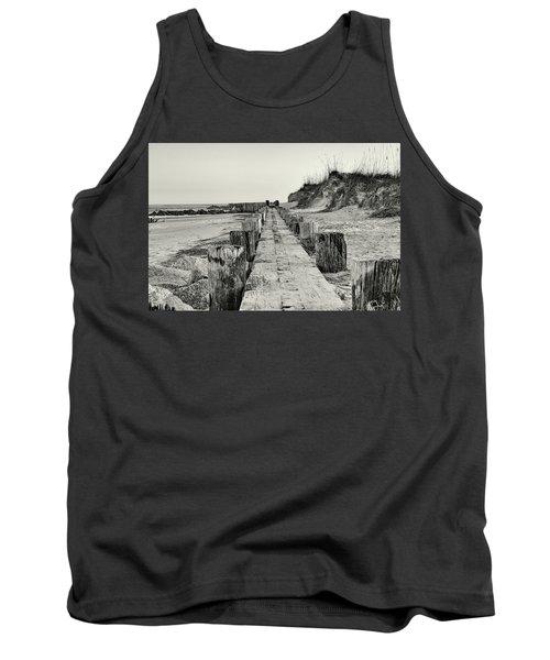 Beach Pilings Tank Top