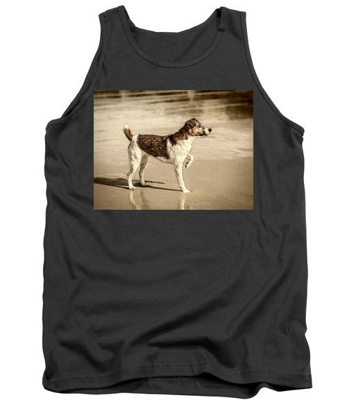 Tank Top featuring the photograph Beach Ready by Nick Bywater