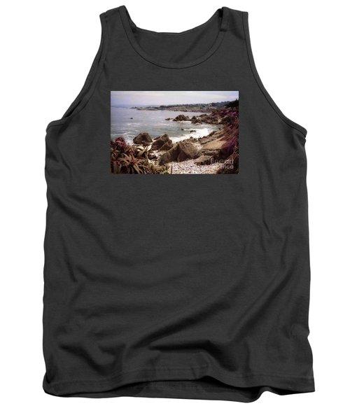Beach Rock Ocean Waves Tank Top