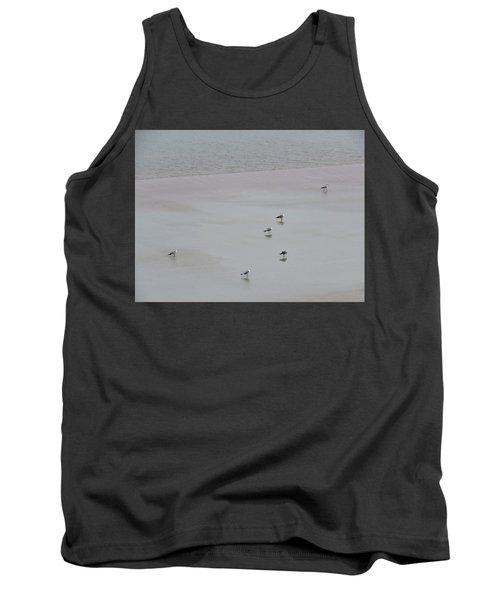 Beach Seagulls Tank Top